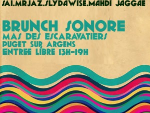 BRUNCH SONORE 2 OCTOBRE